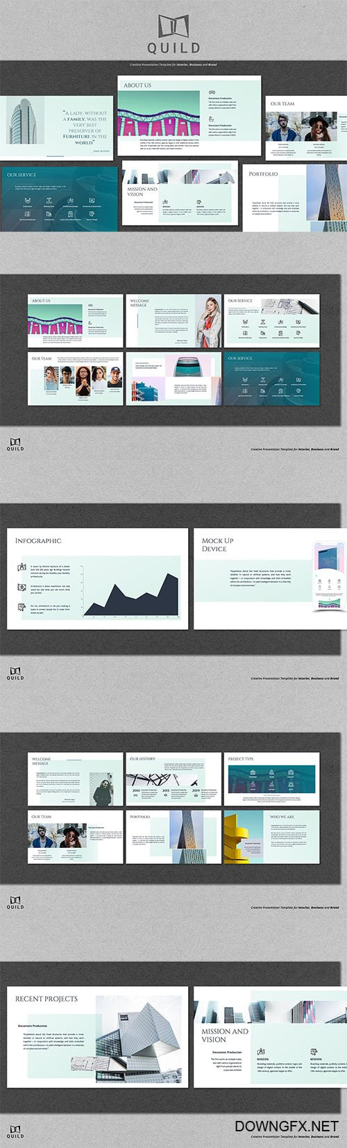 Quild PowerPoint Template