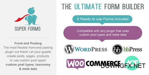 CodeCanyon - Super Forms - Front-end Posting Add-on v1.3.0 - 17092502