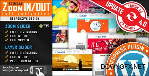 CodeCanyon - Responsive Zoom In/Out Slider WordPress Plugin v4.2.6.1 - 2950062