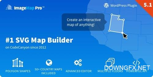 CodeCanyon - Image Map Pro for WordPress v5.1.5 - SVG Map Builder - 2826664