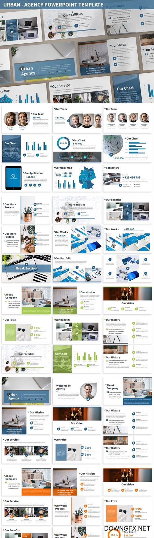 Urban - Agency Powerpoint Template