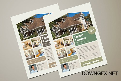 Real Estate Flyer PSD