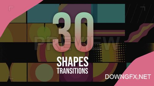 MA - 30 Shapes Transitions Pack 209018