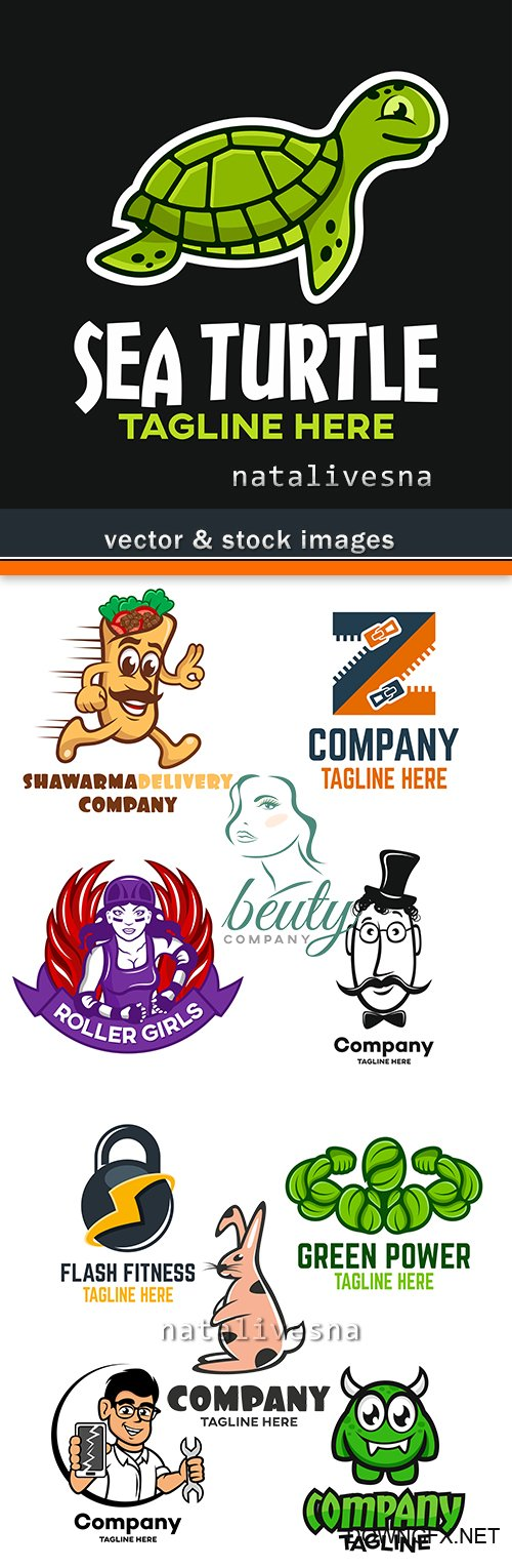 Creative logos corporate business company design 16