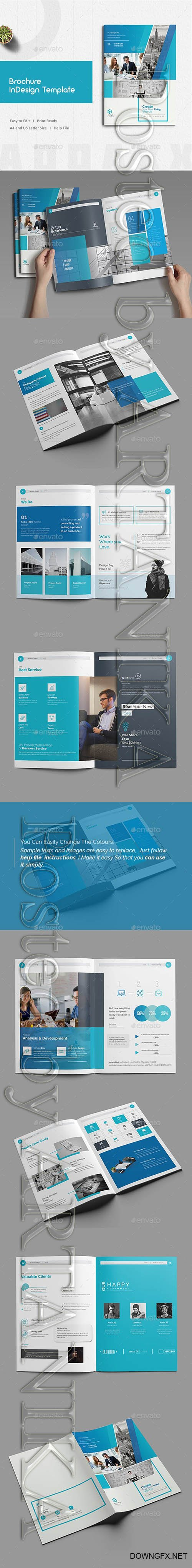 Brochure Indesign Template 21171334