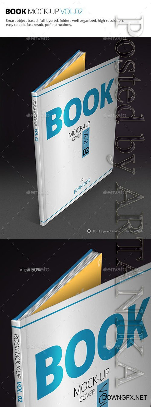Book Mock-up Vol.02 10255337