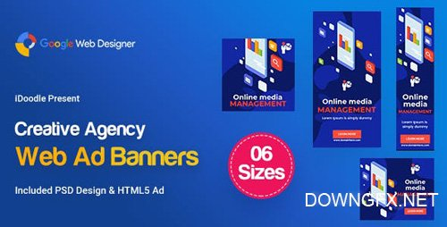 CodeCanyon - C59 - Creative, Startup Agency Banners HTML5 Ad - GWD & PSD - 23919326