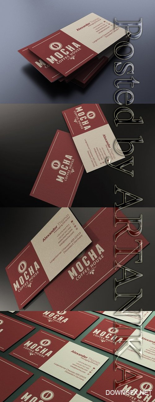 Brown Business Card 2426451
