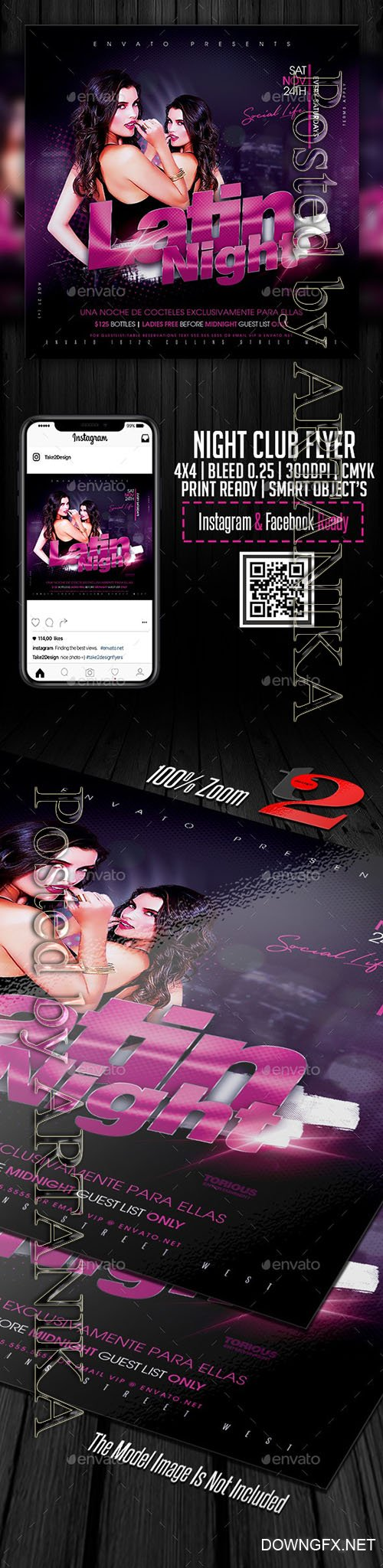 Night Club Flyer Template 23515134