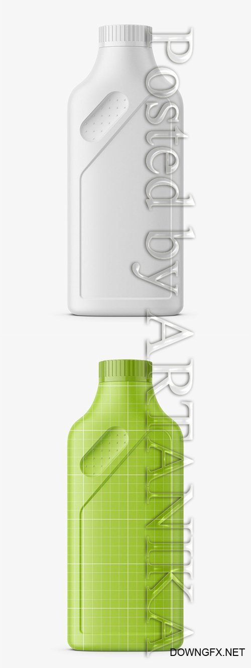 Household Bottle Mockup