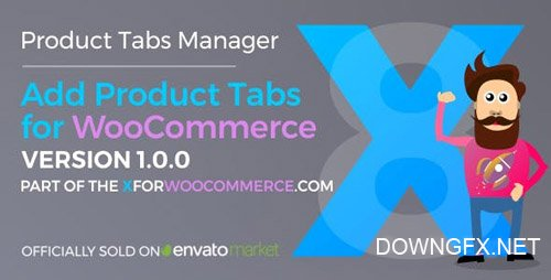 CodeCanyon - Add Product Tabs for WooCommerce v1.0.0 - 24006072