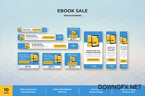 Ebook - Web Ad Banner Template