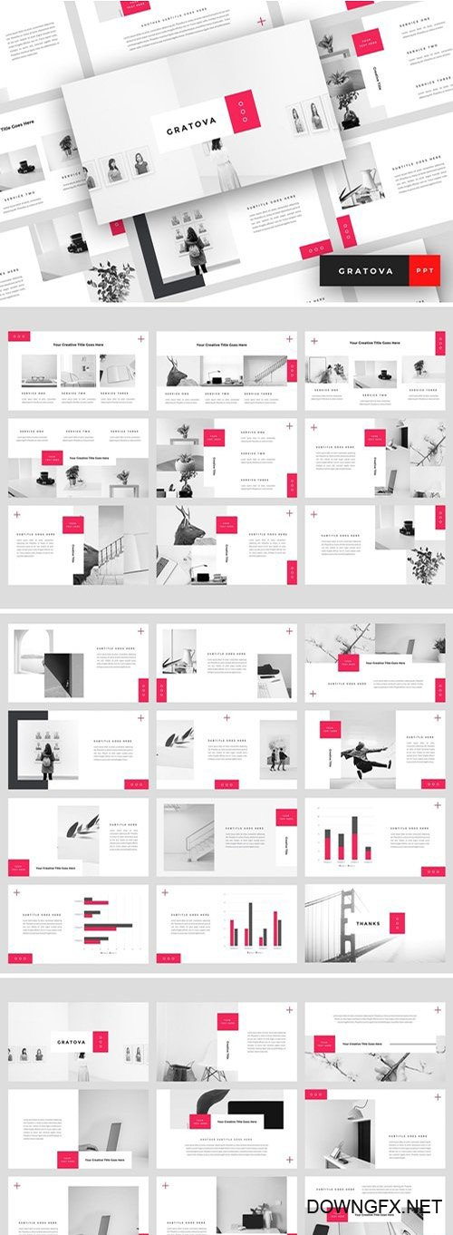 Gratova Powerpoint, Keynote and Google Slides Templates
