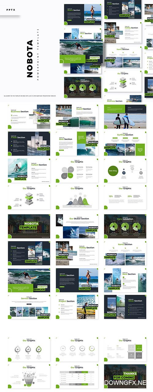 Nobota - Powerpoint, Keynote and Google Slides Templates