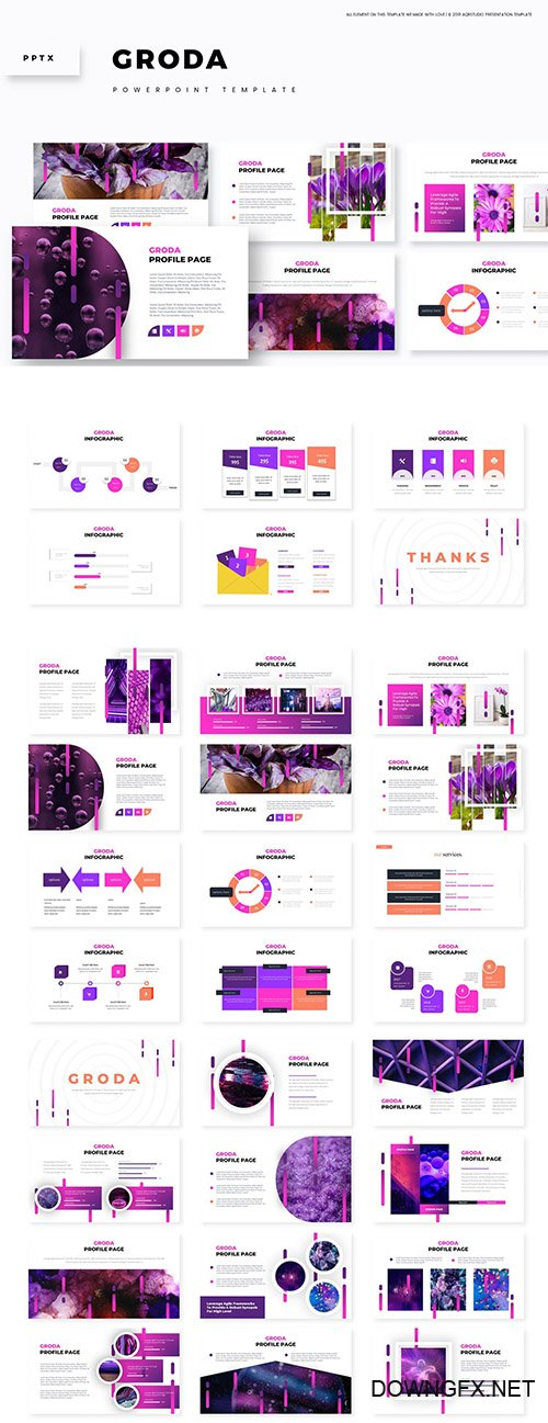 Groda - Powerpoint, Keynote and Google Slides Templates