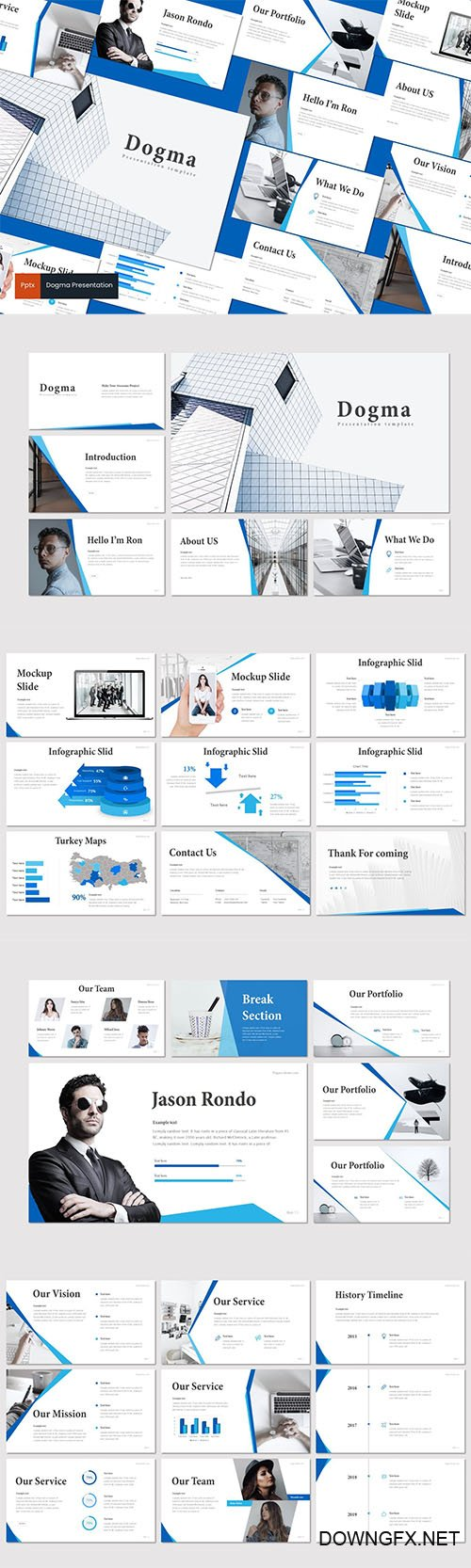 Dogma - Powerpoint, Keynote and Google Slides Templates