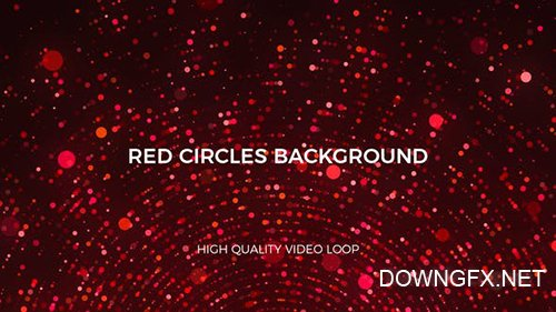 Red Circles Background 23708882