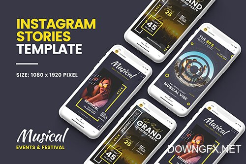 Music Instagram Story Template