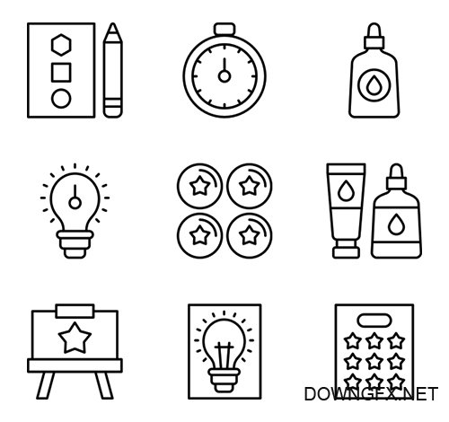 100 Education Vector Icons