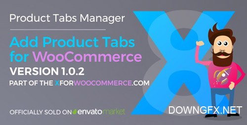 CodeCanyon - Add Product Tabs for WooCommerce v1.0.5 - 24006072