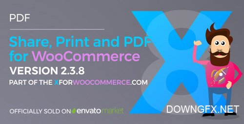 CodeCanyon - Share, Print and PDF Products for WooCommerce v2.4.1 - 13127221