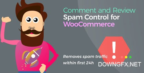 CodeCanyon - Comment and Review Spam Control for WooCommerce v1.0.3 - 24305144