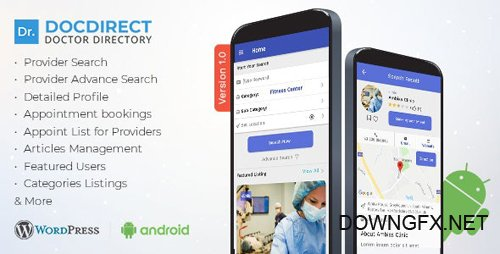 CodeCanyon - DocDirect App v1.0.1 - Doctor Directory Android Native App - 23412330