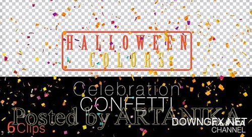 Halloween Celebration Particles 24639606