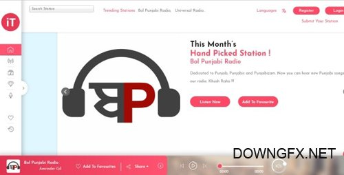 CodeCanyon - Radio Streaming v1.0 - php Script (Update: 21 January 19) - 23055514 - NULLED