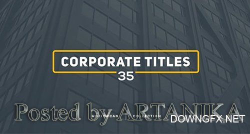 VideoHive - Corporate Titles 17448480
