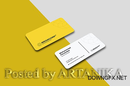 Business Card PSD and Vector Templates