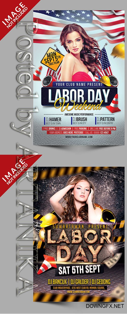 Labor Day Flyer Templates