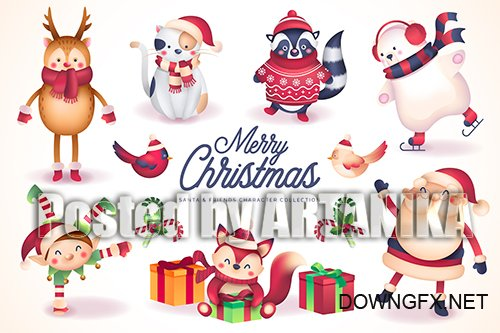 Santa and Friends Christmas Collections