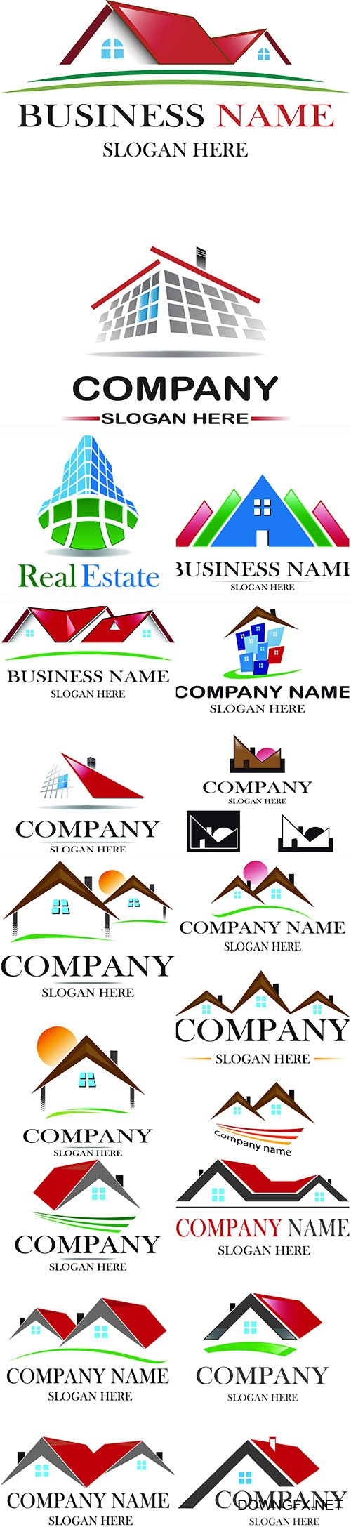 Project house logo vector