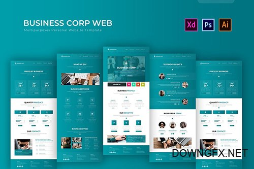 Business Corp | PSD Web Template