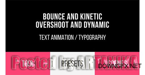Bounce & Dynamic Text Animations 19691145
