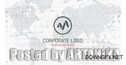 Corporate Map Logo 25517368