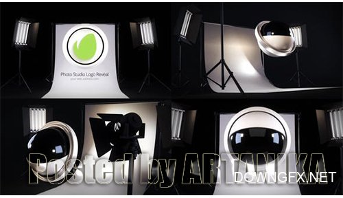 Photo Studio Logo Reveal 25586691