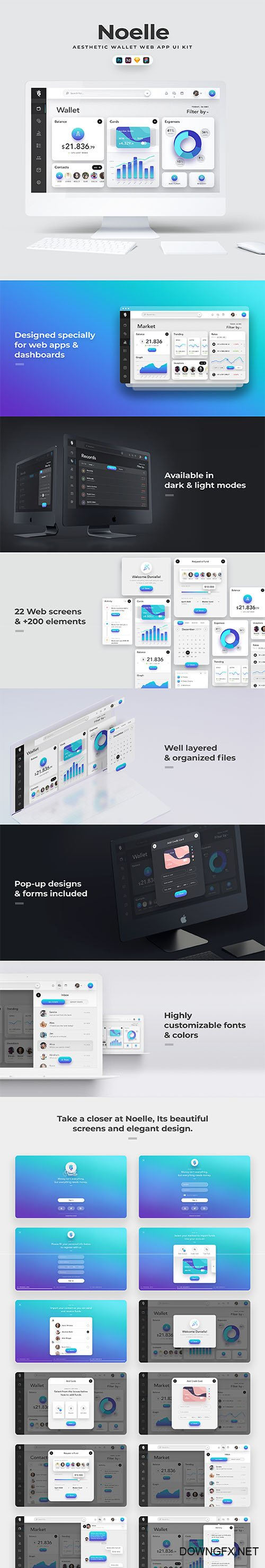 Noelle Web UI Kit