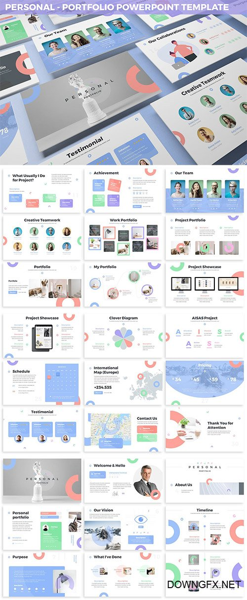 Personal - Portfolio Powerpoint Template