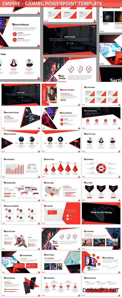Empire - Gaming Powerpoint Template
