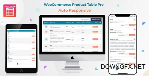 CodeCanyon - Woo Product Table Pro v5.7.6 - WooCommerce Product Table view solution - 20676867