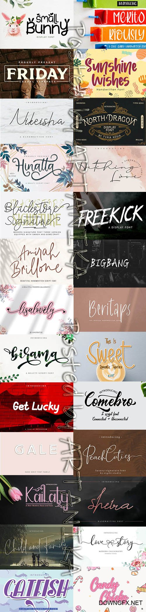 Fresh Modern Fonts Bundle