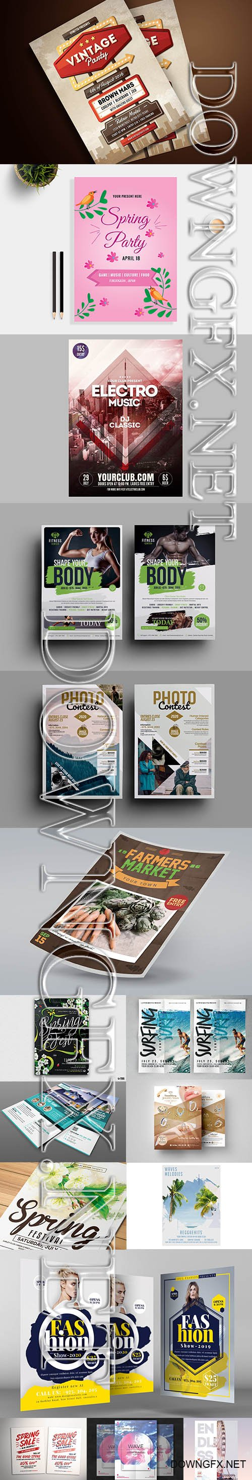 Bundle of Creative Flyer Template