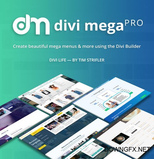 DiviLife - Divi Mega Pro v1.8.0 - Plugin For Divi Theme - NULLED
