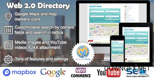CodeCanyon - Web 2.0 Directory v2.5.11 - plugin for WordPress - 6463373 - NULLED