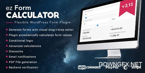 CodeCanyon - ez Form Calculator v2.13.0.2 - WordPress plugin - 7595334