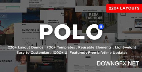 ThemeForest - Polo v5 - Responsive Multi-Purpose HTML5 Template (Update: 15 February 20) - 13708923