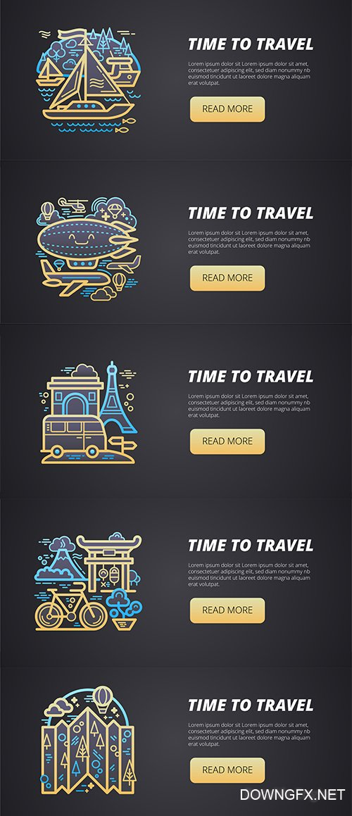 Travel Tourism Banners
