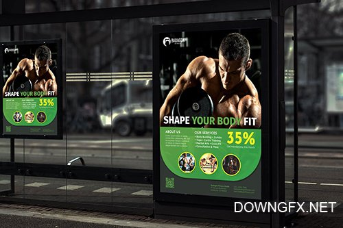 Badagok Fitness - Promotion Poster RB